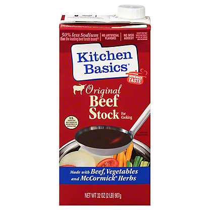Kitchen Basics Original Beef Cooking Stock, 32 oz