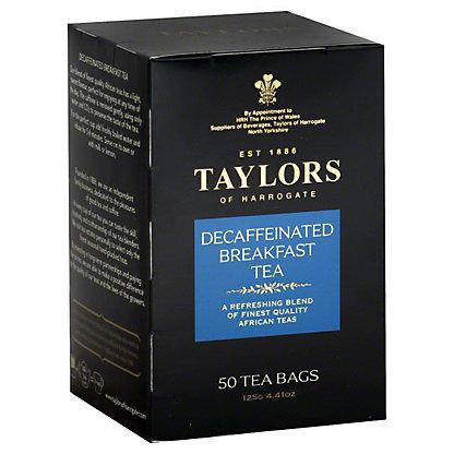 Taylors of Harrogate Decaffinated Breakfast Tea,50 CT
