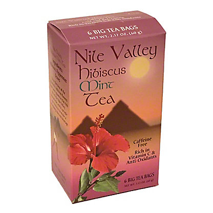 Nile Valley Hibiscus Tea Bags,6 CT