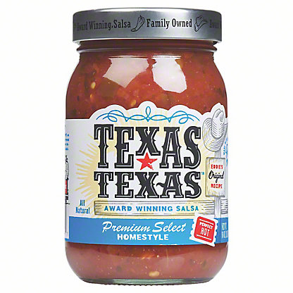Texas-Texas Premium Select Hot Salsa,16 oz