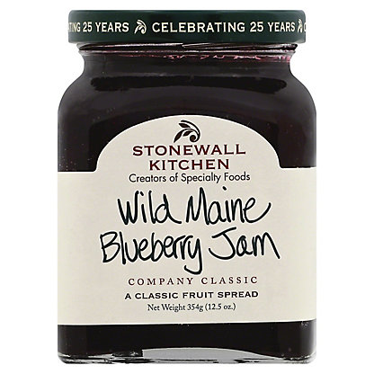 Stonewall Kitchen Wild Maine Blueberry Jam,12.5 OZ