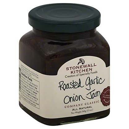 Stonewall Kitchen Roasted Garlic and Onion Jam,13 OZ
