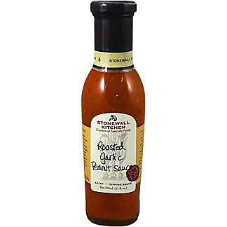 Stonewall Kitchen Roasted Garlic Peanut Sauce, 11 OZ