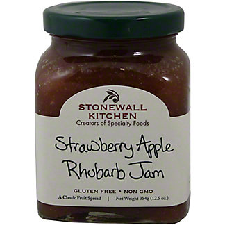 Stonewall Kitchen Strawberry Apple Rhubarb Jam, 12.50 oz
