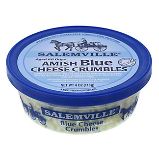 Salemville Amish Blue Cheese Crumbles,4 OZ
