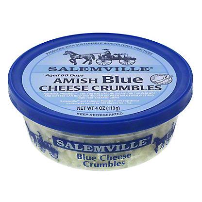 Salemville Amish Blue Cheese Crumbles,4 OZ