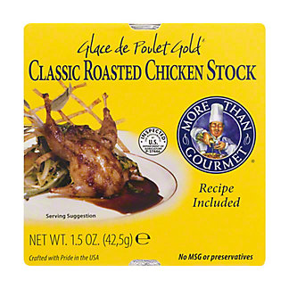 More Than Gourmet Classic Roasted Chicken  Stock,1.5 OZ
