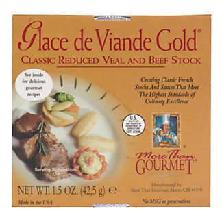 More Than Gourmet Classic Reduced Veal And Beef Stock,1.5 OZ