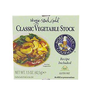 More Than Gourmet Veggie Stock Gold- Classic Vegetable Stock, 1.5 OZ