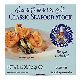 More Than Gourmet Classic Seafood Stock,1.5 OZ