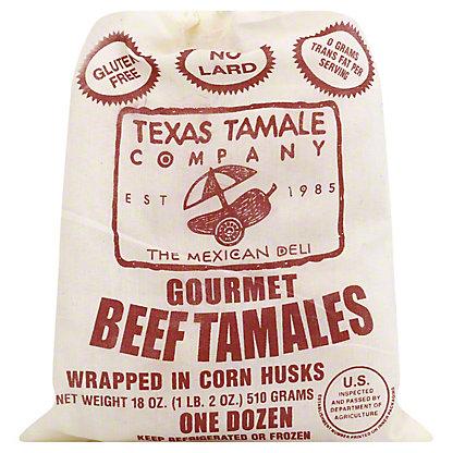 Texas Tamale Company Gourmet Beef Tamales,12 CT