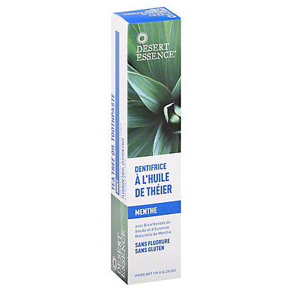Desert Essence Natural Tea Tree Oil Toothpaste, Mint,7 OZ