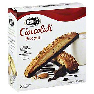 Nonni's Cioccolati Biscotti, 6.88 oz