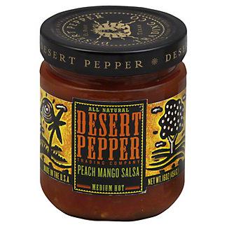 Desert Pepper Peach Mango Medium Hot Salsa,16 OZ