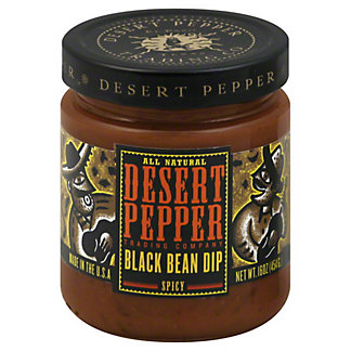 Desert Pepper El Paso Desert Pepper Black Bean Dip, 16.00 oz