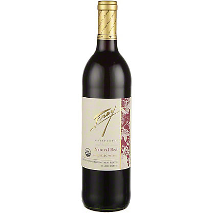 Frey Natural Organic Red Table Wine, 750 mL