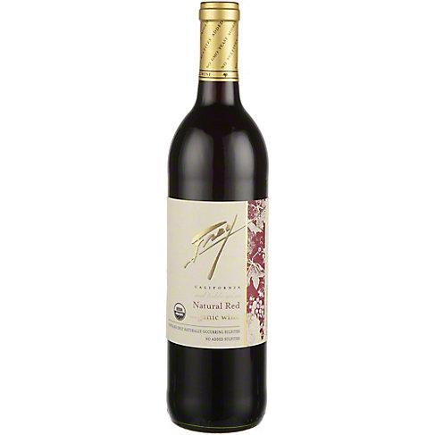 Frey Natural Organic Red Wine, 750 mL