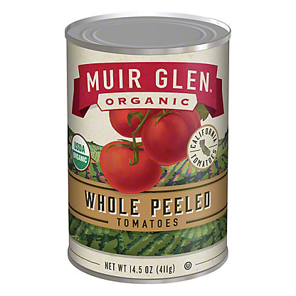 Muir Glen Organic Whole Peeled Tomatoes, 14.50 oz