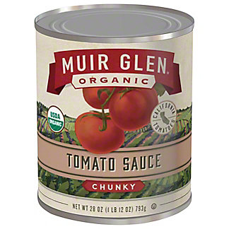 Muir Glen Organic Chunky Tomato Sauce,28 OZ