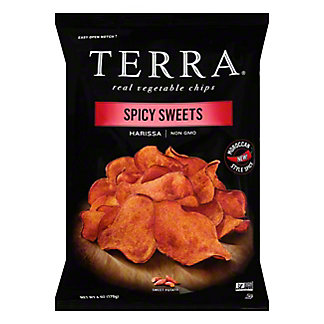 Terra Spiced Sweet Potato Chips,6 OZ