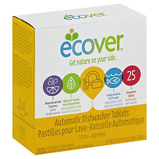 Ecover Automatic Ecological Dishwasher Tablets,25 CT