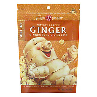 The Ginger People Gin Gins The Ginger People Crystalized Ginger, 3.50 oz