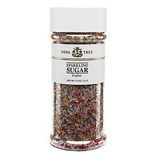 India Tree Sparkling Confetti Sugar,7.5 OZ