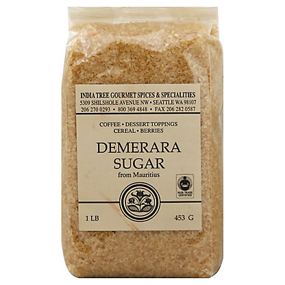 India Tree Demerara Sugar From Mauritius,1 LB