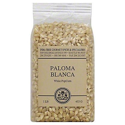 India Tree Paloma Blanca White Popcorn,1.00 lb