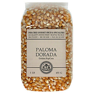 India Tree Paloma Dorado Golden Popcorn,1 lb (453 g)