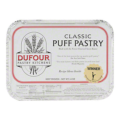 Dufour Pastry Kitchens Classic Puff Pastry, 14 OZ