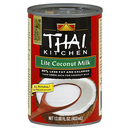 Thai Kitchen Thai Kitchen Lite Pure Coconut Milk, 13.66 oz