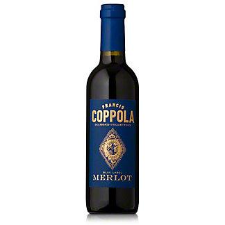 Francis Coppola Diamond Collection Blue Label  Merlot,375 ML