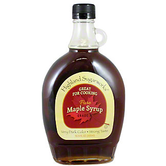 Highland Sugarworks Cooking Maple Syrup,16 OZ