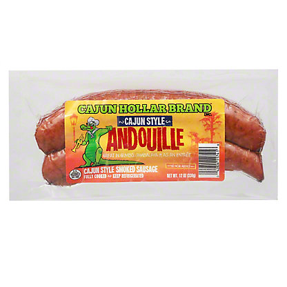 Cajun Hollar Smoked Sausage,12 OZ