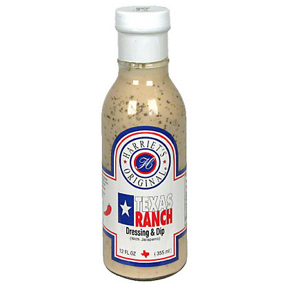 Harriet's Original Texas Ranch with Jalapeno Dressing and Dip, 12 oz