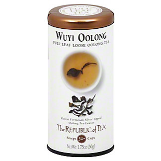 The Republic of Tea Wuyi Oolong Full-Leaf Tea, 3.5 oz