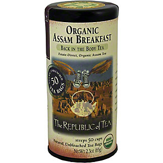 The Republic of Tea Organic Breakfast Tea Bags, 50 CNT