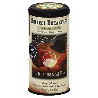 The Republic of Tea British Breakfast Black Tea Bags,50 CT