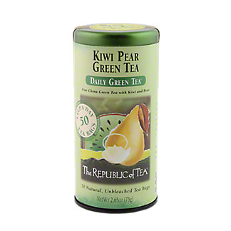 The Republic of Tea Kiwi Pear Green Tea Bags, 50 ct
