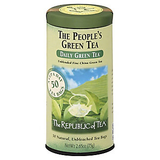 The Republic of Tea The People's Green Tea Bags,50.00 ea