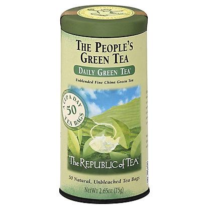 The Republic of Tea The People's Green Tea Bags,50.00 ea