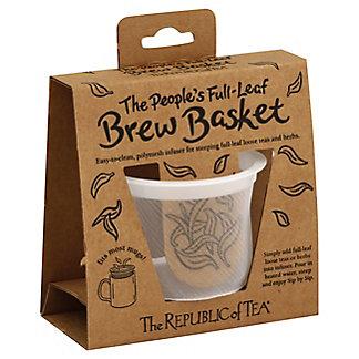 The Republic Of Tea Peoples Brew Basket, 1 ea