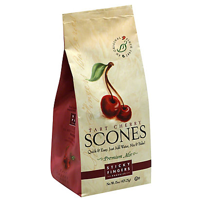 Sticky Fingers Bakeries Tart Cherry Scones, 15.00 oz