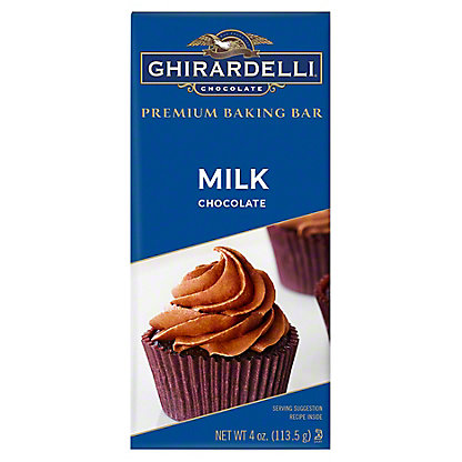 Ghirardelli Milk Chocolate Premium Baking Bar,4 OZ
