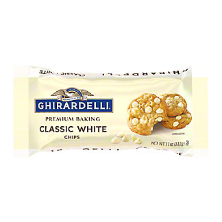 Ghirardelli Classic White Chocolate Premium Baking Chips, 11 oz