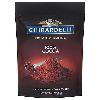 Ghirardelli 100% Unsweetened Cocoa,8 OZ