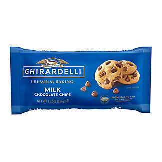 Ghirardelli Milk Chocolate Premium Baking Chips, 11.5 oz