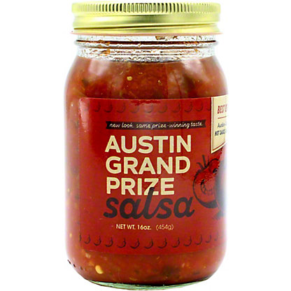 Austin Grand Prize Hot Sauce, 16 oz