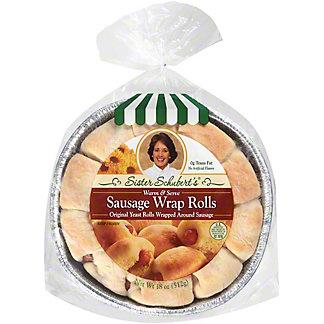 Sister Schuberts Sausage Wrap Rolls, 18 oz